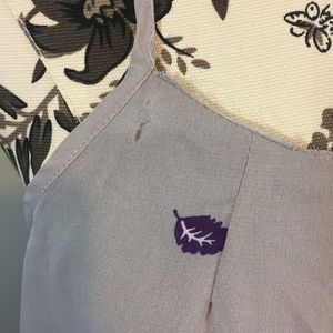 Xhilaration Tops - Xhilaration Dusty Purple Feather Print